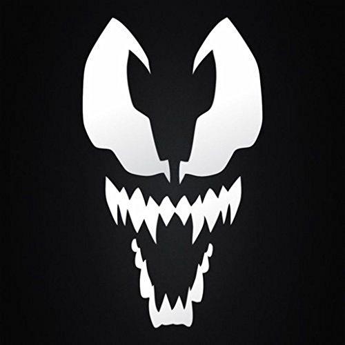 Spiderman Venom Decal Vinyl Sticker  Cars Trucks Vans Walls Laptop  White  3.5 x 5.5 In   CCI281