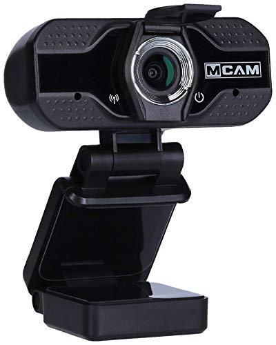 Maginon M-Cam, Webcam mit Full HD Übertragung inkl. Objektiv-Abdeckung und eingebauten Mikrofon
