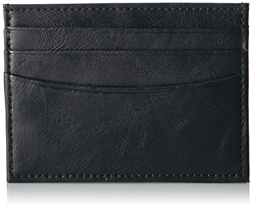 Amazon Essentials Men's Slim RFID Blocking Card Case Minimalist Wallet