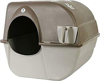 Omega Paw Products RA20 Self Cleaning Litter Box  Large 19-1/2 Inch W x 22 Inch D x 20 Inch H