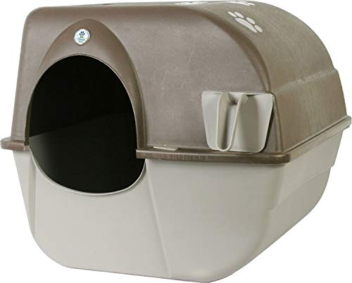 Omega Paw Products RA20 Self Cleaning Litter Box (Large, 19-1/2 Inch W x 22 Inch D x 20 Inch H)