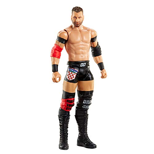 WWE Figura básica 30, muñeco articulado de Juguete (Mattel GTG34)