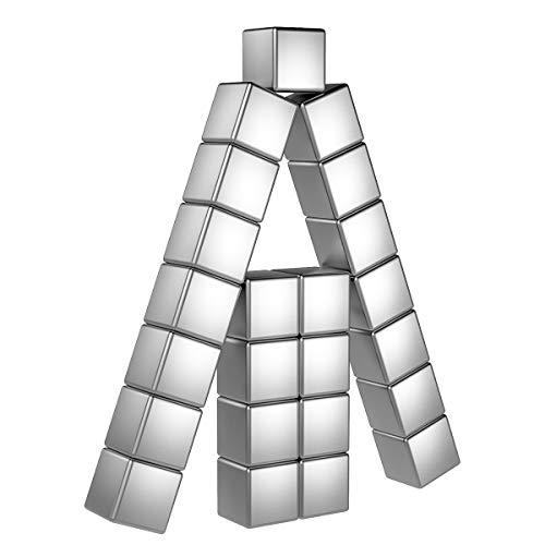 Temporaryt Magnete 30 Stück, 8mm Magnets Premium Qualität - Mini Magneten für Whiteboard Pinnwand inkl. Aufbewahrungs Box