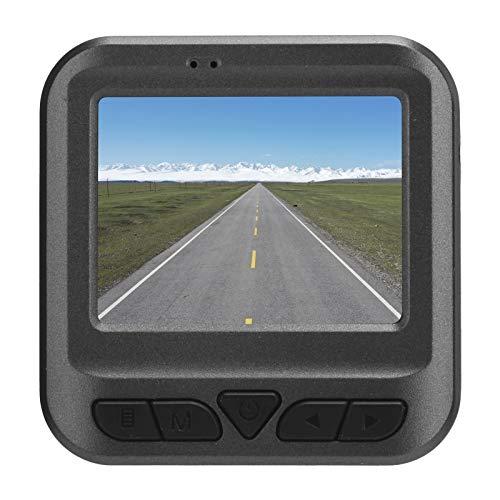 Grabador de conducción, Grabador de Datos de automóvil WiFi de 170 °, cámara de salpicadero de visión Nocturna con DVR de Coche Full HD de 2 Pulgadas con Pantalla de 2 Pulgadas, cámara de salpicadero