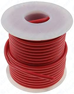Clipsandfasteners Inc 1 Roll 16 Gauge PVC Primary Wire Red 35'
