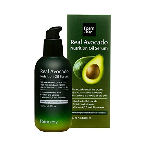 Farm Stay Avocado Premium Öl/Gesichtsöl/Anti Falten Serum -Tagesserum mit Avocadoöl 100ml