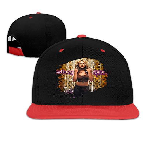 Yaouihur Hip Hop Sun Caps Herren Damen Britney Spears Ups! Ich Habe es Wieder getan Atmungsaktive Kappen Einstellbare Unisex