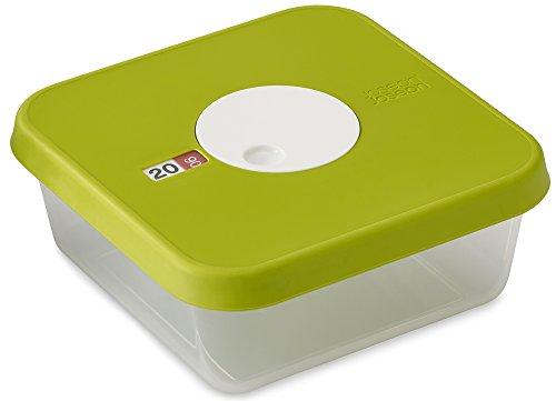 Joseph Joseph Dial Stapelbarer Behälter Mit Datierbarem Deckel Quadratisch, grün