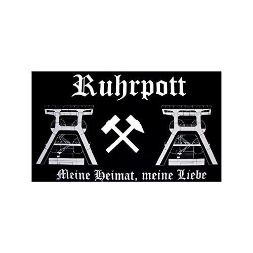 TS24direkt Ruhrpott XXL Fahne ca. 150 x 250 cm