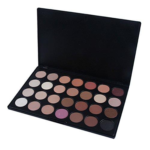 YusellYu Pro 28 Color Neutral Warme Lidschatten-Palette Lidschatten-Make-up-Kosmetik