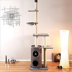 kratzbaum deckenhoch infos tests und tipps. Black Bedroom Furniture Sets. Home Design Ideas
