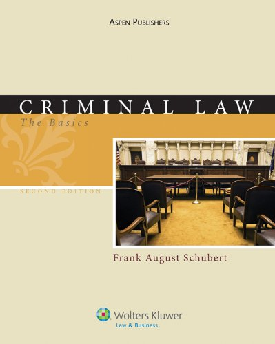 Criminal Law: The Basics 2e