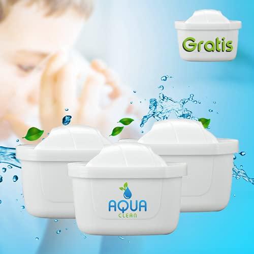 WASSERFILTER-KARTUSCHEN +1 Filter Gratis || Wasserfilter Brita Maxtra Marella KOMPATIBEL || Qualität von AquaClean® (3+1Gratis)