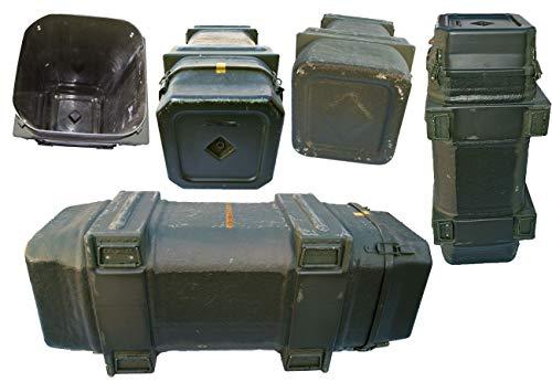 US GFK Kiste Milan Offroad Defender oliv gebraucht 130 x 54 x 48