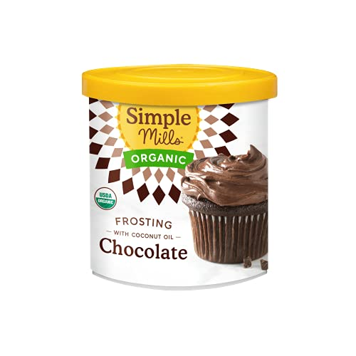 Organic Chocolate Frosting with Coconut Oil