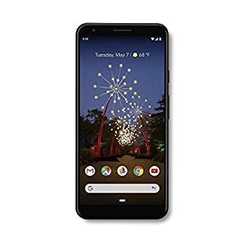 Google - Pixel 3a XL with 64GB Memory Cell Phone  Unlocked  - Just Black  Renewed
