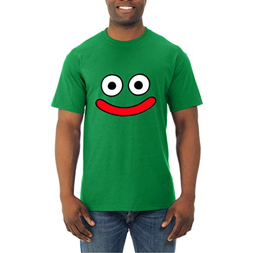 Dragon Limo Monsters Colours Quest - Camiseta Hombre Manga Corta (Verde, L)