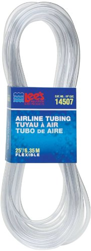 Lee's Airline Tubing, 25-Foot, Standard