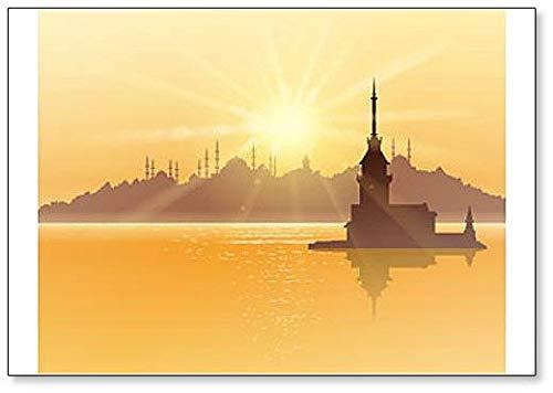 Istanbul Zonlicht - Koelkast Magneet