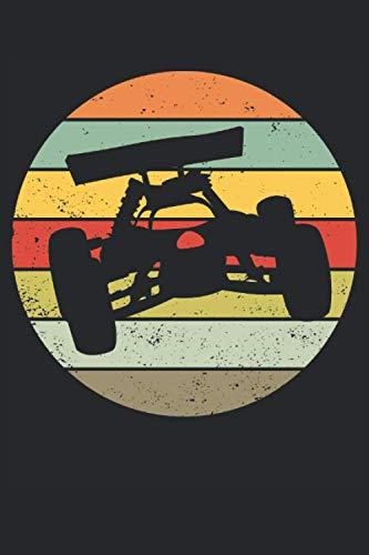 RC Cars RC Auto Buggy Modellauto Retro Geschenk Notizbuch (Taschenbuch DIN A 5 Format Liniert): Buggy RC-Car Vintage Notizbuch, Notizheft, ... und Fans von ferngesteuerten Modellauto