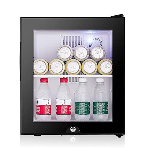 Mini-Frigoríficos Minirefrigerador para habitación de Hotel frigorífico Compacto silencioso y de bajo Consumo frigorífico pequeño refrigerado de 30L y de conservación,B,48.2 * 40 * 39.8