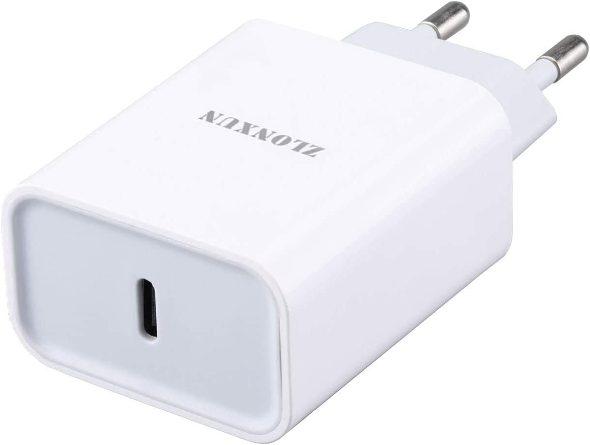European Charger 20W Adapter EU Charger Power Adapter Charging Plug for iPhone 12/12 Pro/11 Pro/11 PRO Max/11/12 PRO Max/12 Mini, Samsung S21/S20/A71