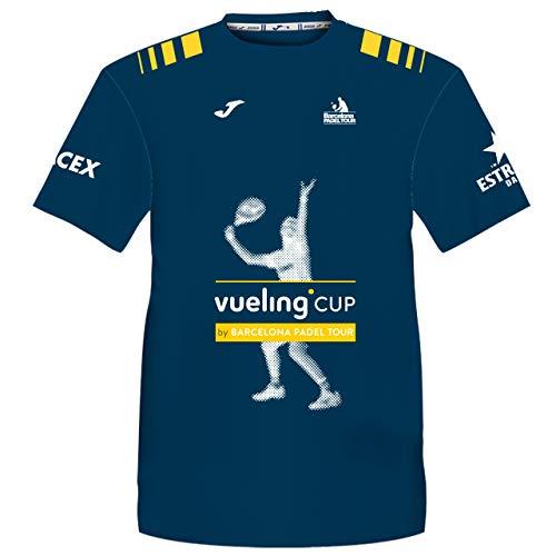 Camiseta Manga Corta Técnica Vueling Cup Hombre Azul Marino XXL