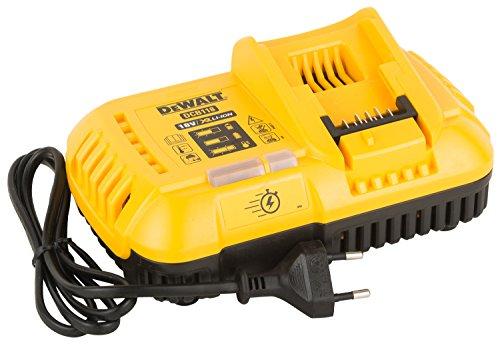 DEWALT DCB118-QW Caricabatterie rapido per piattaforma XR FLEXVOLT, per batterie 54 18V, corrente di ricarica 8.0A
