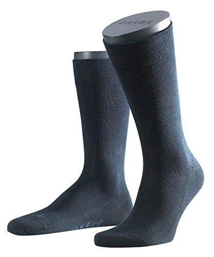 FALKE 3 Paar Herren Socken 14616 Sensitiv London SO, Farbe:Dark Navy 6370, Socken & Strümpfe:47-50