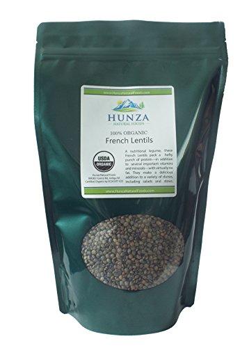 Hunza Organic French Lentils (2 lbs)