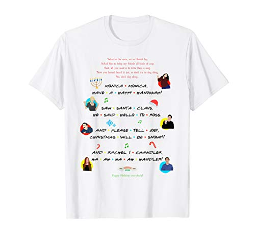 Monica Have A Happy Hanukkah. Phoebe's Song With Friends T-Shirt
