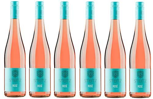 6x 0,75l - 2019er - Weingut Steitz - Rosé - Rheinhessen - Deutschland - Rosé-Wein trocken