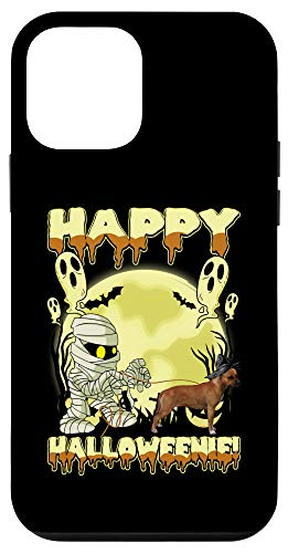 iPhone 12 mini Staffordshire Bull Terrier - Scary Happy Halloween Dogs Gift Case