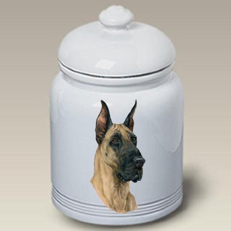 Great Dane  Ceramic Treat Jar 10 High  45020 by Best of Breed