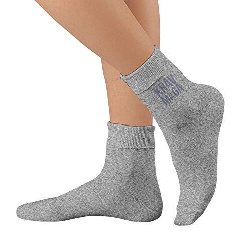 heefan Gris Krav Maga Hombres Y Mujeres Correr Calcetines Impermeable De Espuma De Algodón Puro Calcetines Deportes De Moda Calcetines
