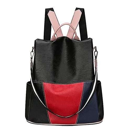 ZiYangEU 2021 antirrobo mochila de las mujeres de cuero mochila de la escuela femenina bolsas de hombro para las mujeres viaje bagpack mochilas feminina preppy