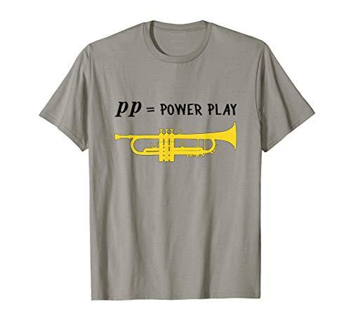 pp = power play!, Trompete Geschenk, Lustiges Trompete T-Shirt