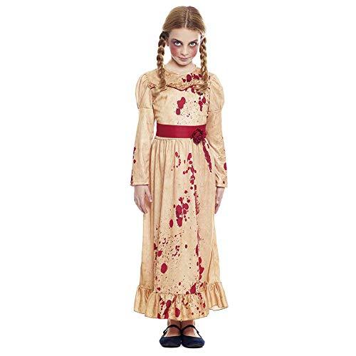 Disfraz Muñeca Poseída Niña Cosplay (7-9 años) (+Tallas) Halloween
