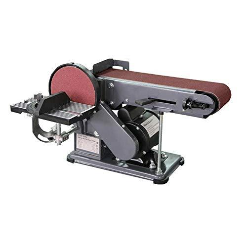 Heavy Duty Bench Belt & Disc Sander Combo Grinder 375W 230V for Woodworking Metal Work Tools Disk Sanding