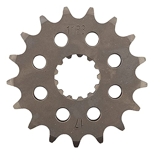 New   Supersprox Front Sprocket Compatible with/Replacement For Triumph America 2007, America EFI 2008-2016, Bonneville 2006-2008, Bonneville America 2002-2006 - Total Power Parts CST-1183-17-2