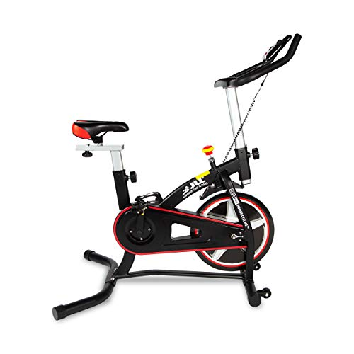JLL® IC100 Pro Indoor Bike 2021, 6KG Flywheel Entry Level Bike, Belt Driven Exercise Bike...