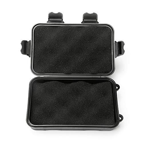 Sawpy - Caja de plástico plegable grande - Estuche protector de esponja para exteriores Contenedor sellado para el hogar de viaje para herramientas de almacenamiento