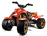 Falk Quad à pédales Dakar Moto & Quads, 606D, Orange