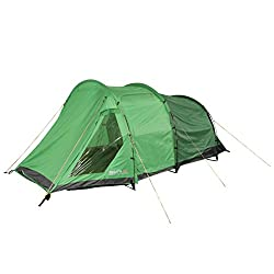 4 man capacity Large porch area for storage and living space Waterproof Hydro fort 70D flysheet with 3000mm hydrostatic head Front and side door access Hardwearing, waterproof PE groundsheet with 10,000mm hydrostatic head