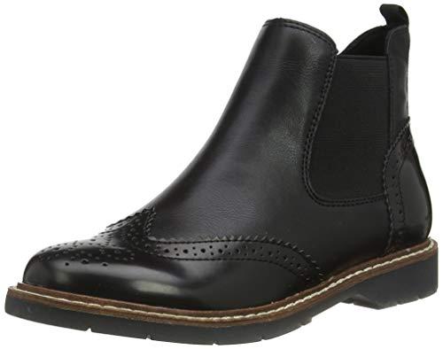 s.Oliver Damen 5-5-25444-23 Chelsea Boots, Schwarz (Black Comb 098), 39 EU