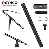 SYNCO-D2-コンデンサーマイク-超指向性-ガンマイク 高音質 金属製 インタビューマイク アウトドア録音マイク 正規代理 品質保証 日本語サポート