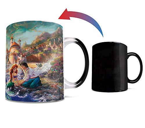 Disney - Little Mermaid - Rainbow - One 11 oz Morphing Mugs Color Changing Heat Sensitive Ceramic Mug – Image Revealed When HOT Liquid Is Added!
