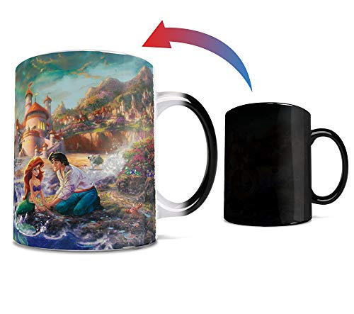Disney - Little Mermaid - Rainbow - One 11 oz Morphing Mugs Color Changing Heat Sensitive Ceramic Mug – Image Revealed When HOT Liquid Is Added!