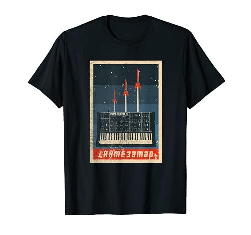 Vintage Synthesizer Analog - UDSSR Soviet Synth T-Shirt