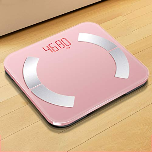 Nanxi Body Fat Scales,Digital Smart Wireless Weighing Weight Weight Scale With Round Corner Design,for Analysis Of Weight,body Fat,body Water,muscle Mass And BMI